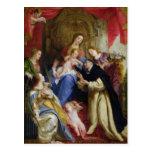 La Virgen que ofrece el rosario Postales