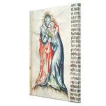 La Virgen y el Cristo, de la pasión de Lona Estirada Galerías