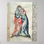 La Virgen y el Cristo, de la pasión de Poster