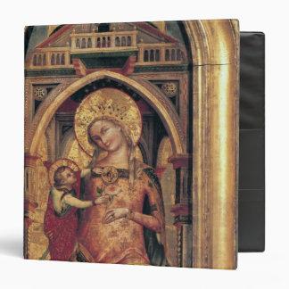 """La Virgen y el niño, 1372 Carpeta 1 1/2"""""""
