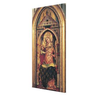 La Virgen y el niño, 1372 Impresión En Tela