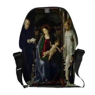 La Virgen y el niño (aceite) Bolsas De Mensajeria