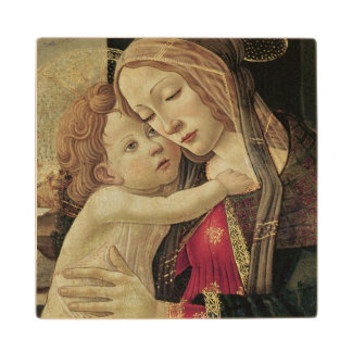 La Virgen y el niño, c.1500 Posavasos De Madera