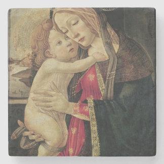 La Virgen y el niño, c.1500 Posavasos De Piedra