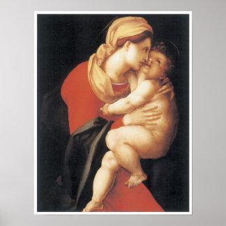 La Virgen y el niño, C. 1520 Poster