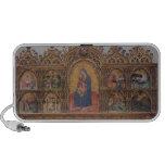 La Virgen y el niño con escenas legendarias iPod Altavoz