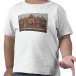 La Virgen y el niño con escenas legendarias Camiseta