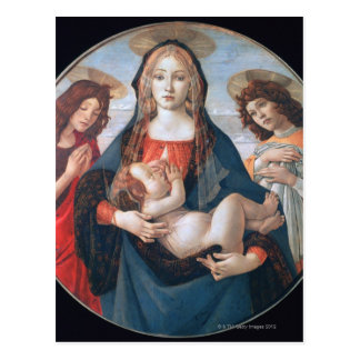 'La Virgen y el niño con San Juan y Tarjetas Postales