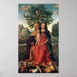 La Virgen y el niño con St Anne, 1510-18 Poster