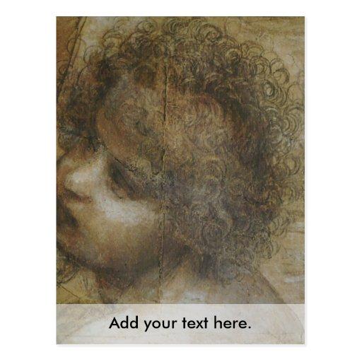 La Virgen y el niño con St Anne y St John Tarjetas Postales