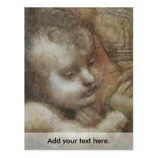 La Virgen y el niño con St Anne y St John Postal