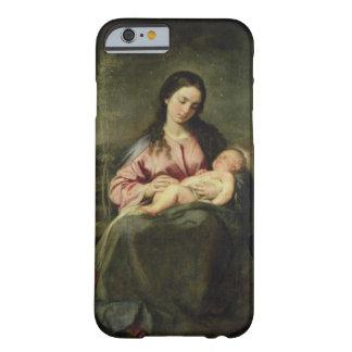 La Virgen y el niño Funda De iPhone 6 Barely There