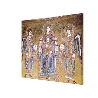 La Virgen y el niño Lienzo Envuelto Para Galerias