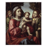 La Virgen y el niño Posters
