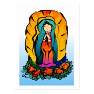 La Virgin de Guadalupe Postcard