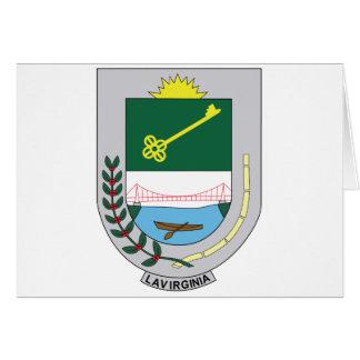 La Virginia Risaralda Colombia Escudo Card