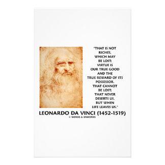 la virtud perdida las riquezas de da Vinci no es Papeleria De Diseño