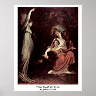 La virtud recuerda la juventud de Juan Fuseli Impresiones