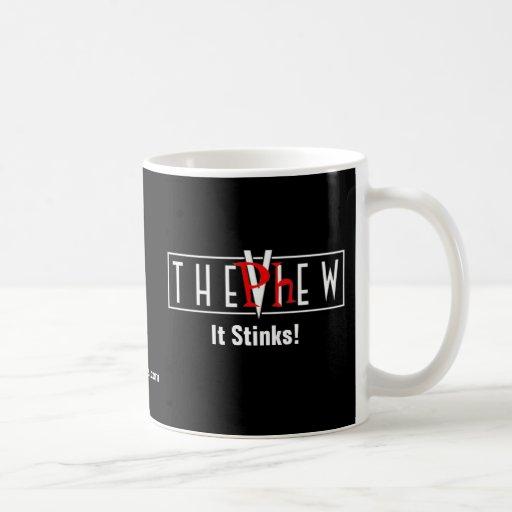 ¡La visión - apesta! Tazas De Café