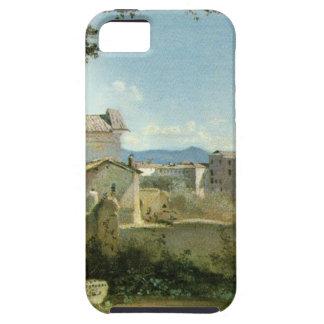 La visión desde el Farnese cultiva un huerto, Roma iPhone 5 Funda