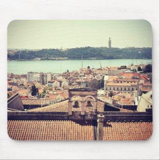 La visión desde la tarde: Lisboa Mouse Pads