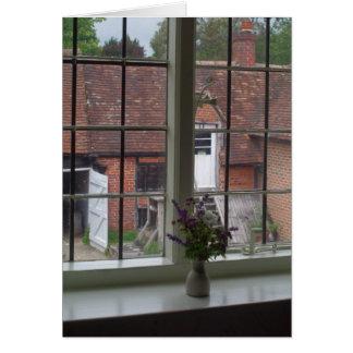 La visión desde la ventana de Jane Austen Tarjeta Pequeña
