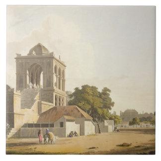 La visión en el fuerte, Madura, platea 14 de la pa Azulejo Cuadrado Grande