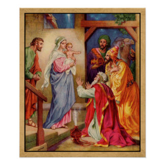 La visita de los Sabio-Hombres Póster