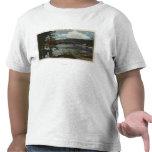 La vista a amansa la bahía camisetas