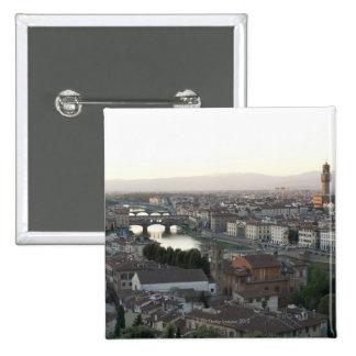 la vista de Florencia de pasa por alto de la demos Pin Cuadrado