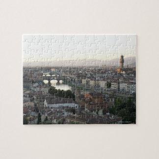 la vista de Florencia de pasa por alto de la demos Puzzles Con Fotos