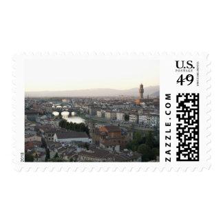 la vista de Florencia de pasa por alto de la Sellos