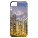 La vista de Hong Kong del pico iPhone 5 Case-Mate Carcasas