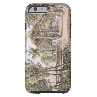 La vista del Reisenberg cultiva un huerto cerca de Funda De iPhone 6 Tough