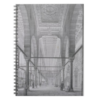 La vista del santuario de la mezquita de Moyed, pl Libro De Apuntes