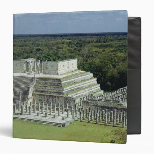 La vista del templo de los guerreros fija el ANUNC