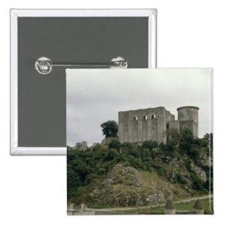 La vista del viaje de Talbot y guarda de Pin Cuadrada 5 Cm