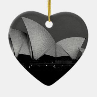 La vista lateral era el mejor para me...jpg adorno navideño de cerámica en forma de corazón