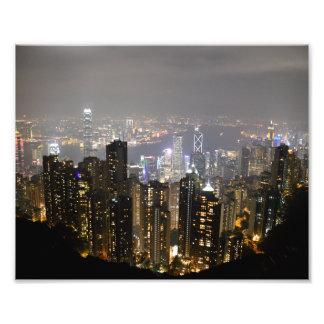 """La vista máxima de Hong Kong 10"""""""" impresión de la Impresiones Fotográficas"""