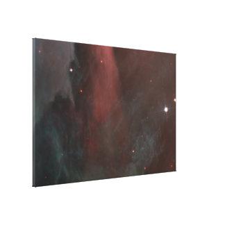 La vista panorámica de la nebulosa de Orión revela Impresión En Lienzo
