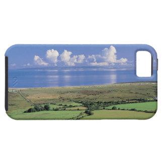 la vista panorámica de los campos de granja acerca iPhone 5 protectores