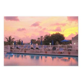 La Vista Sunset Photo Print
