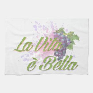 La Vita e' Bella Hand Towel