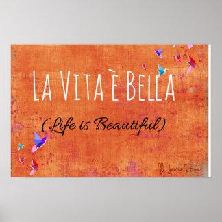 La Vita e Bella (Life is Beautiful) Poster