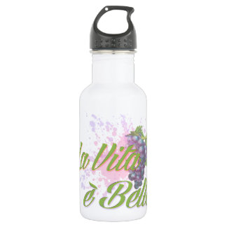 La Vita e' Bella Water Bottle