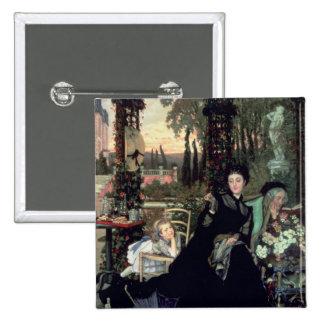 La viuda, 1868 pin cuadrado