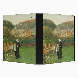 """La viuda, 1895 (aceite en lona) carpeta 1 1/2"""""""