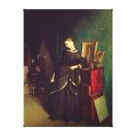La viuda, c.1850 impresión en tela