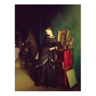 La viuda, c.1850 tarjetas postales