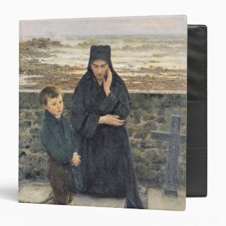 """La viuda del Ile de Sein, 1880 Carpeta 1 1/2"""""""
